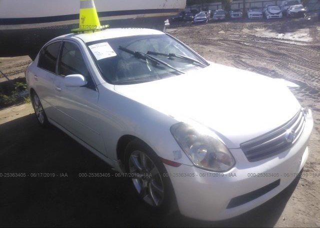 Inventory #499706840 2005 Infiniti G35