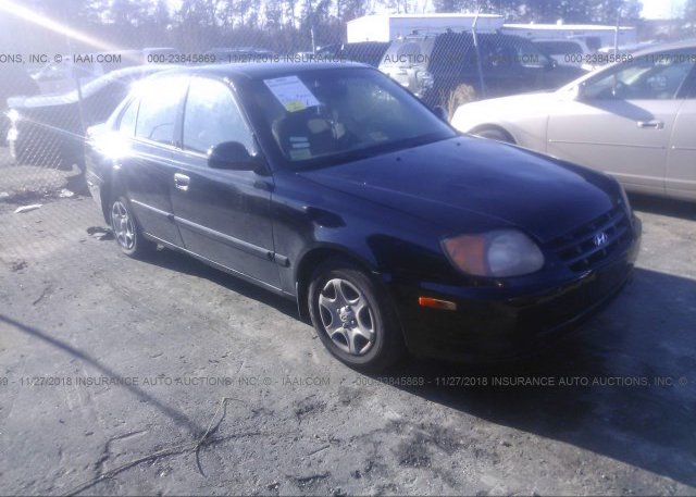 Inventory #818040726 2005 HYUNDAI ACCENT