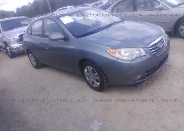 Inventory #117482887 2010 Hyundai ELANTRA