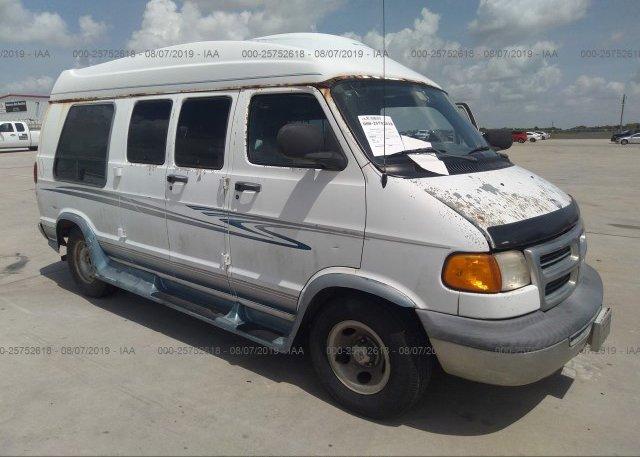 Inventory #845484308 2000 Dodge RAM VAN