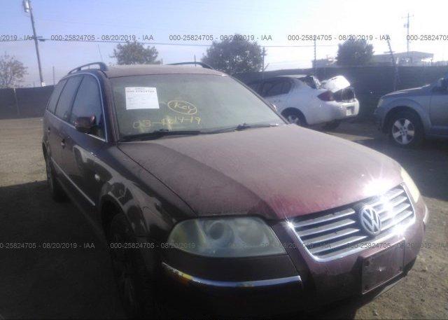 Inventory #159123494 2003 Volkswagen PASSAT