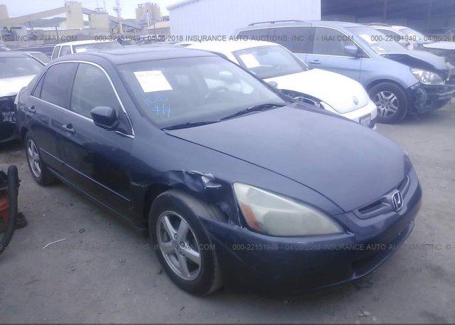Inventory #887205355 2003 Honda ACCORD