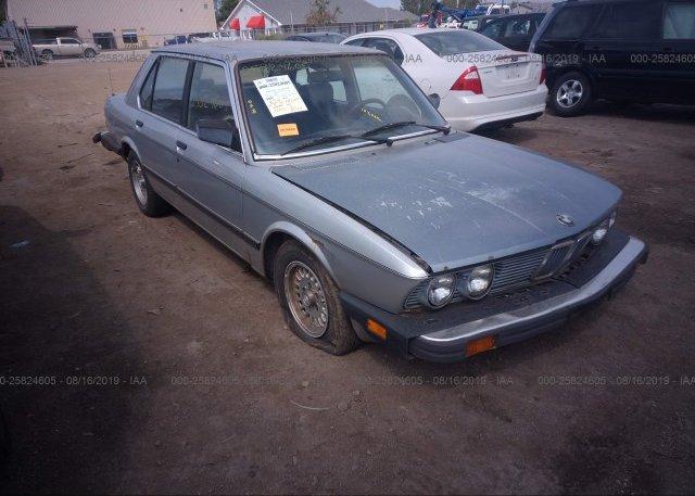 Inventory #835181572 1986 BMW 528