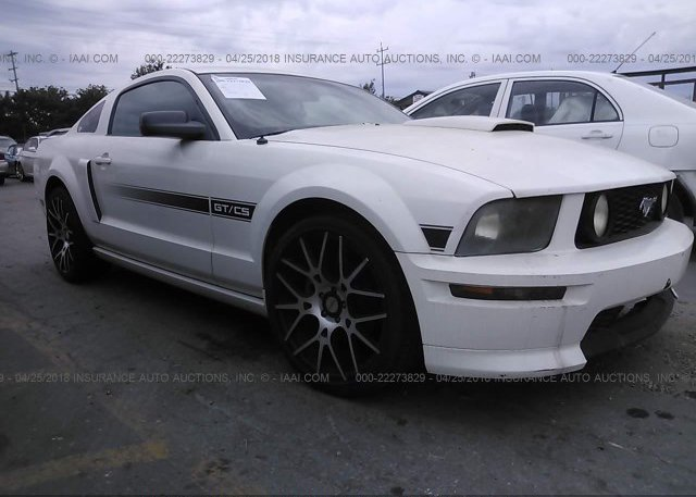 Inventory #605322556 2007 FORD MUSTANG