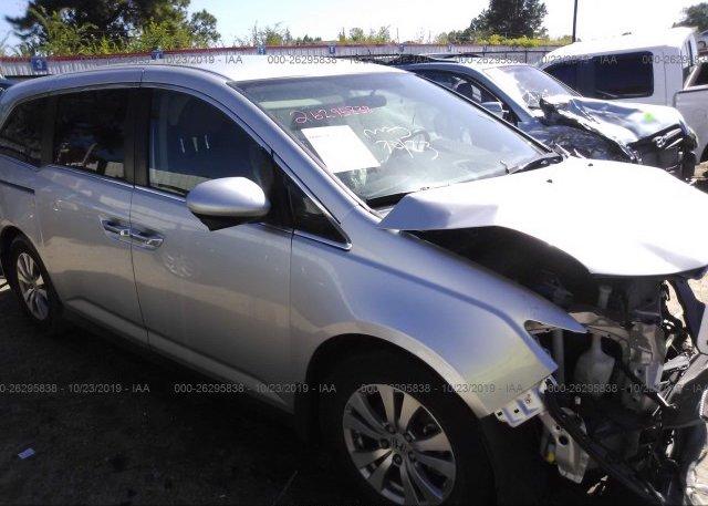 Inventory #661712394 2014 Honda ODYSSEY