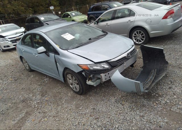 Inventory #765187724 2012 Honda CIVIC