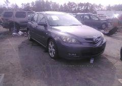 2007 Mazda 3 - JM1BK344X71601194 Left View