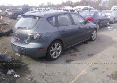 2007 Mazda 3 - JM1BK344X71601194 rear view