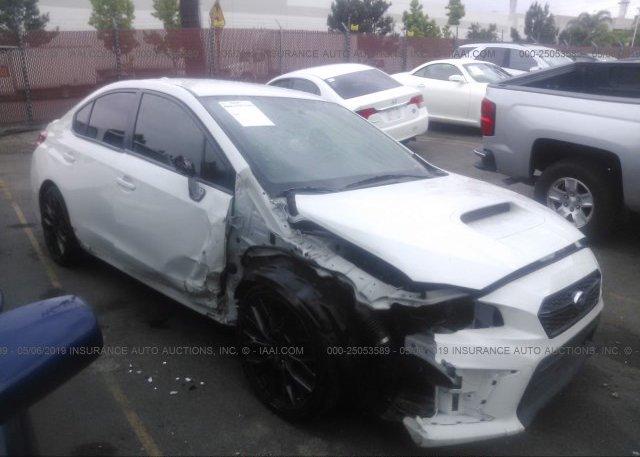 Inventory #484346111 2018 Subaru WRX