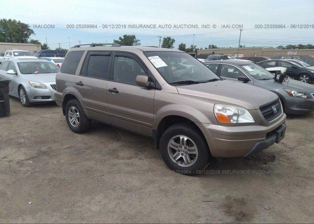 Inventory #900065277 2004 Honda PILOT