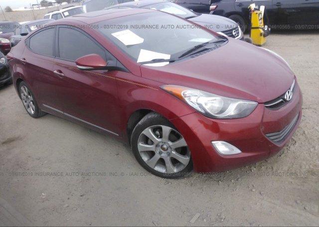 Inventory #573510347 2012 Hyundai ELANTRA
