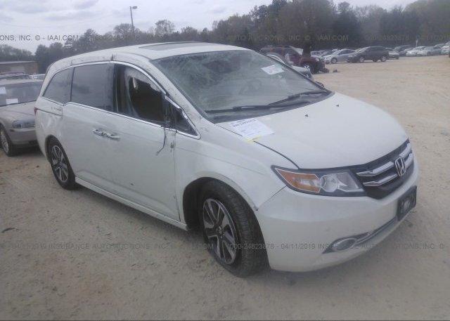 Inventory #100415854 2015 Honda ODYSSEY