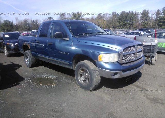 Inventory #456485214 2002 Dodge RAM 1500