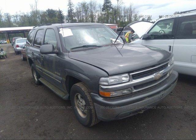 Inventory #450083942 2001 Chevrolet TAHOE
