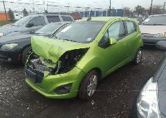 2015 Chevrolet SPARK - KL8CA6S93FC805287 Right View