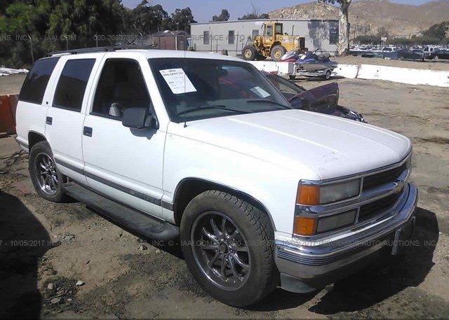 Inventory #615197210 1999 Chevrolet TAHOE