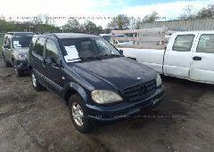 2000 Mercedes-benz ML - 4JGAB54E8YA178578 Left View
