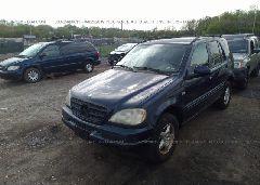 2000 Mercedes-benz ML - 4JGAB54E8YA178578 Right View