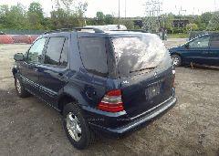 2000 Mercedes-benz ML - 4JGAB54E8YA178578 [Angle] View