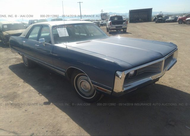 Bidding Ended On Ch41t2c186099 Salvage Chrysler New Yorker At