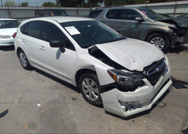 Inventory #489510527 2015 Subaru IMPREZA