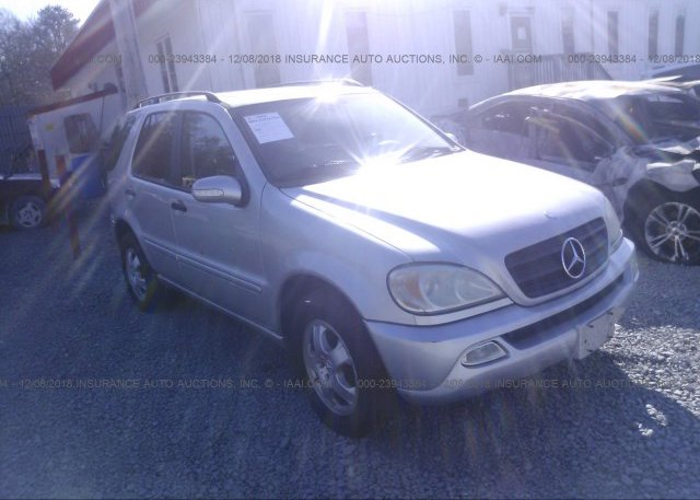 Inventory #570950784 2002 MERCEDES-BENZ ML