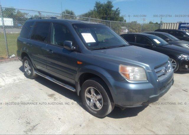 Inventory #915814092 2007 Honda PILOT
