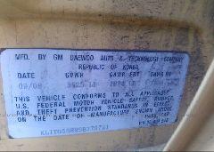 2009 CHEVROLET AVEO - KL1TG56E89B379721 engine view