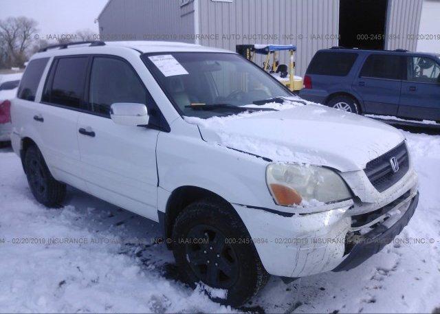 Inventory #649872236 2004 Honda PILOT
