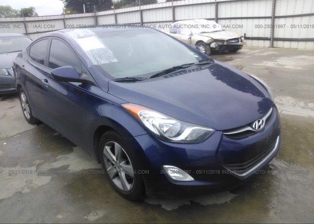 Inventory #347302385 2013 Hyundai ELANTRA