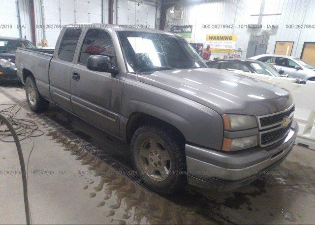Inventory #958114022 2007 Chevrolet SILVERADO