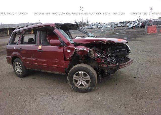 Inventory #554908540 2003 HONDA PILOT