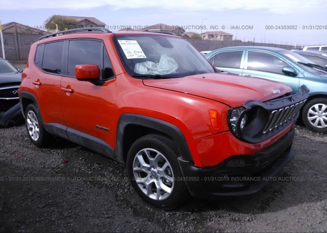 Inventory #987174411 2018 JEEP RENEGADE