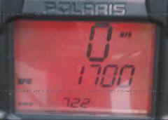 2013 POLARIS INDY 800 RMK - SN1CG8GS8DC753551 inside view