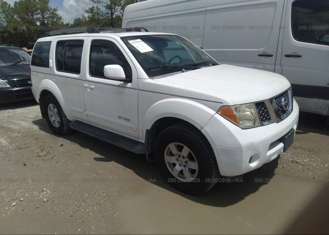 Inventory #862967144 2005 Nissan PATHFINDER