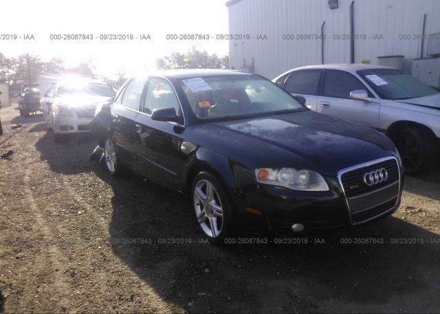 Inventory #372603461 2007 AUDI A4