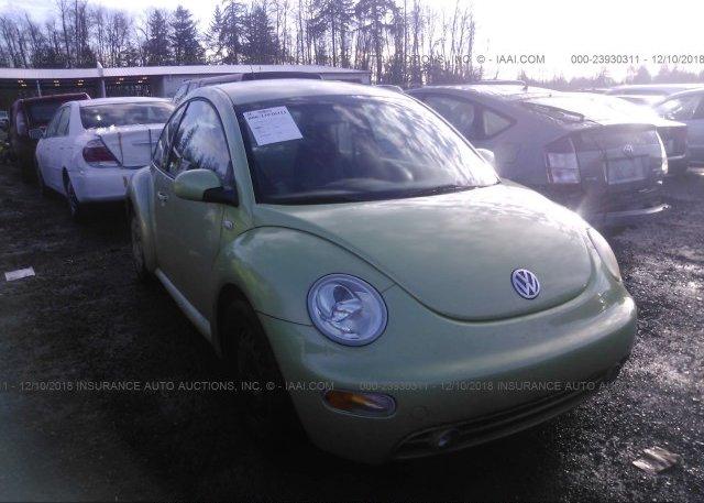 Inventory #997258011 2002 Volkswagen NEW BEETLE