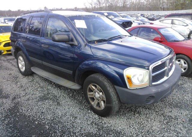Inventory #712575327 2005 Dodge DURANGO