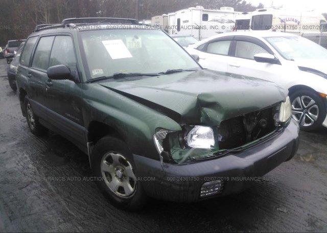 Inventory #301236175 2002 Subaru FORESTER