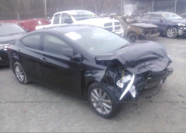 Inventory #890899046 2016 Hyundai ELANTRA