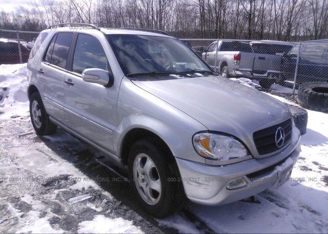 Inventory #152197736 2002 Mercedes-benz ML