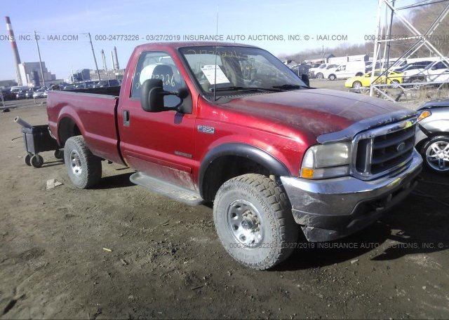 Inventory #758849670 2002 FORD F350