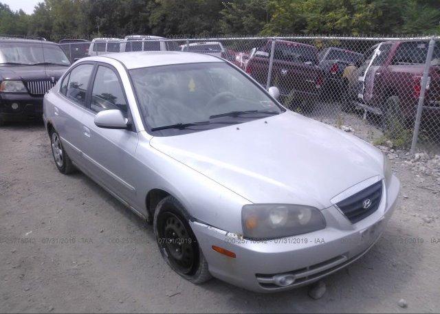 Inventory #667163313 2005 Hyundai ELANTRA