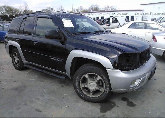 Inventory #862601266 2004 Chevrolet TRAILBLAZER