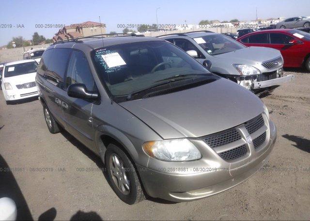 Inventory #883937092 2002 Dodge GRAND CARAVAN