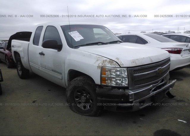 Inventory #137598165 2012 Chevrolet SILVERADO