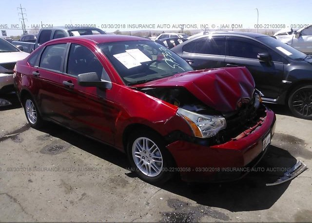 Inventory #638202725 2010 FORD FOCUS