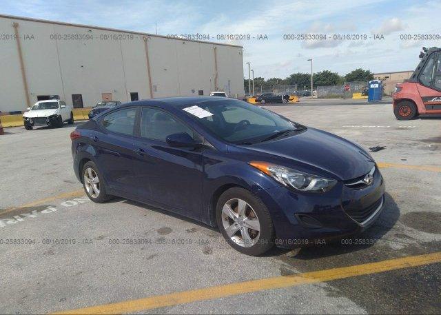 Inventory #749269329 2013 Hyundai ELANTRA