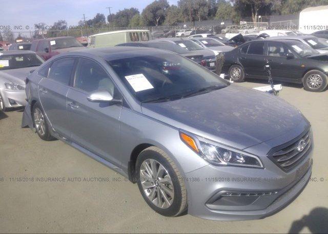Inventory #914507994 2017 Hyundai SONATA