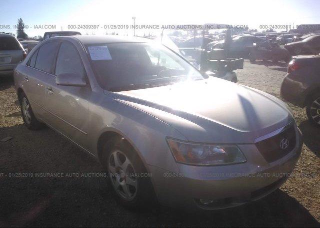 Inventory #513081743 2006 Hyundai SONATA
